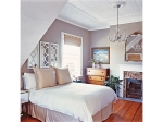 Adding gray walls to a bedroom to bring life and trendy color