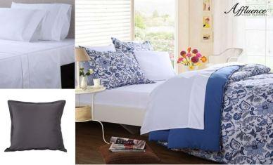 Cobalt Paisley Bed Set